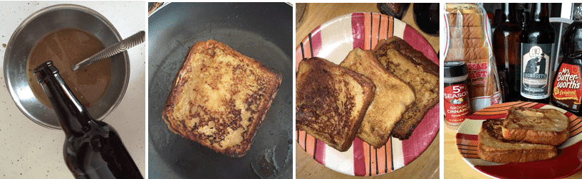 This French Toast Is Better Than Fantastic, It's Eggnogstic